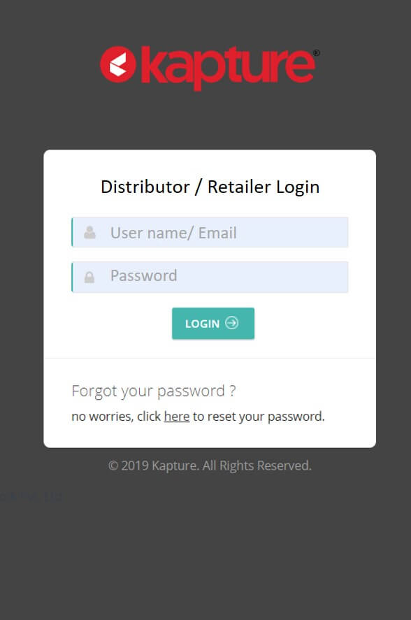 distibutor login