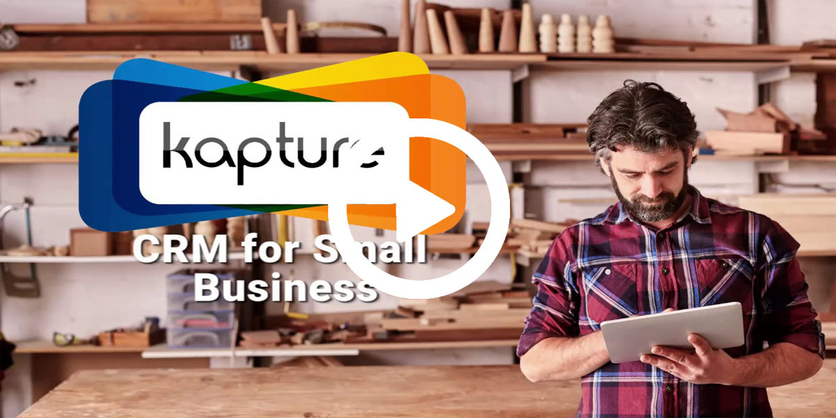 kapture crm for small businesses  startups