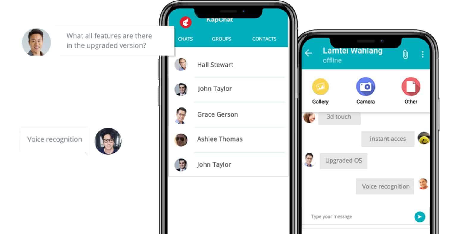 Employee Platform with Kapchat
