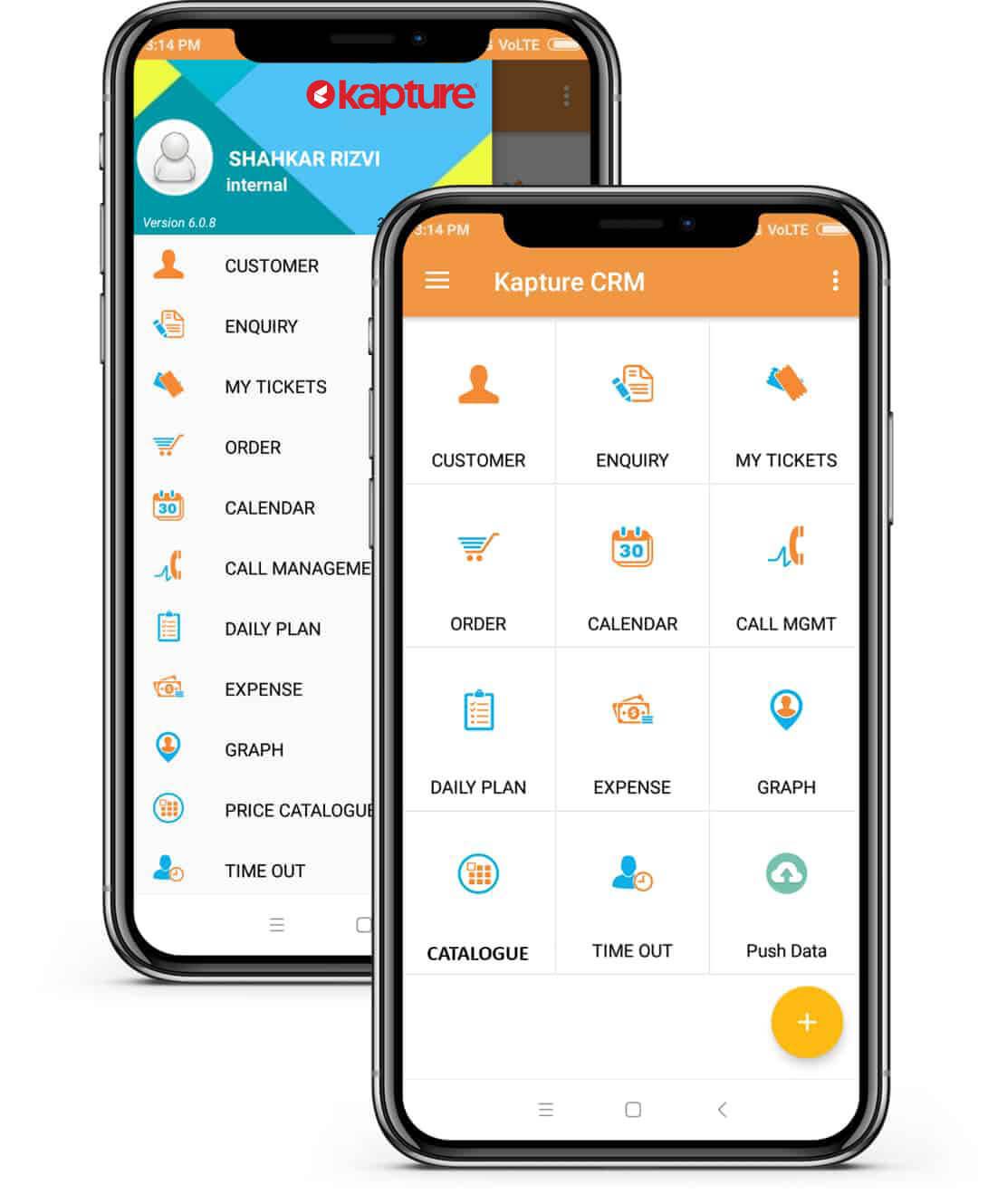 Mobile Sales management