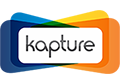 Kapture CRM sticked näthinnan logo