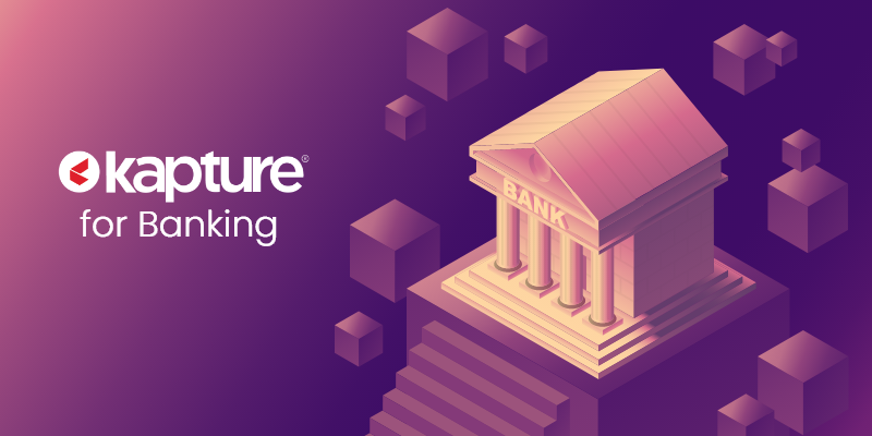 Kapture Crm applications in banking sector
