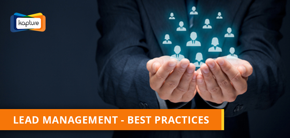 Kapture CRM Lead Management