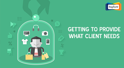 Get Client Product Requirements and Recommendations