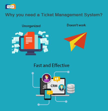 With ticket management system, avoid Illogical tickets and get work done smartly
