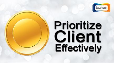 Client-priority