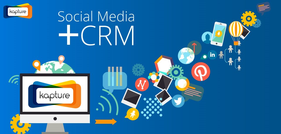 Benefits of CRM Integration:  Social Media Marketing Channels
