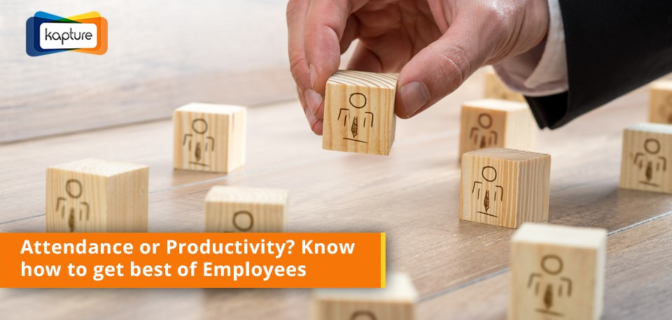 Attendance or Productivity: How process automation helps you get best of Employees?