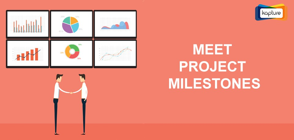 CRM reports and analytics helps you align multiple project milestones