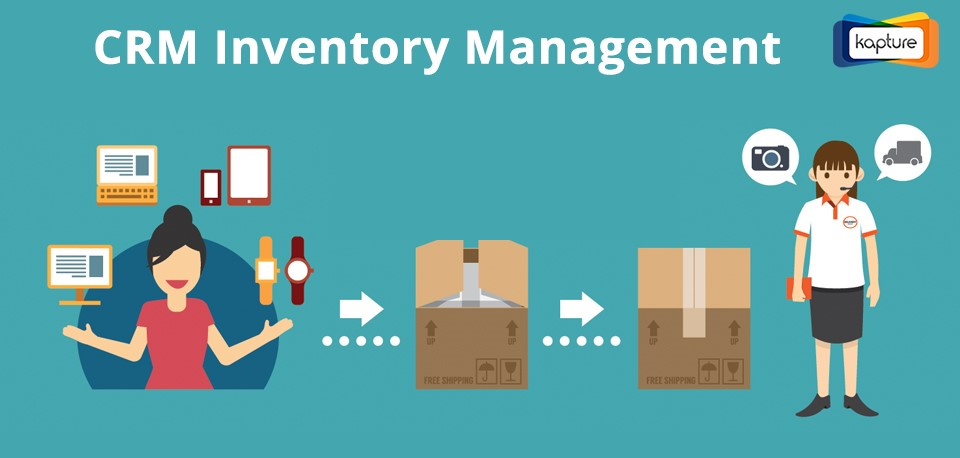 Kapture CRM Inventory management