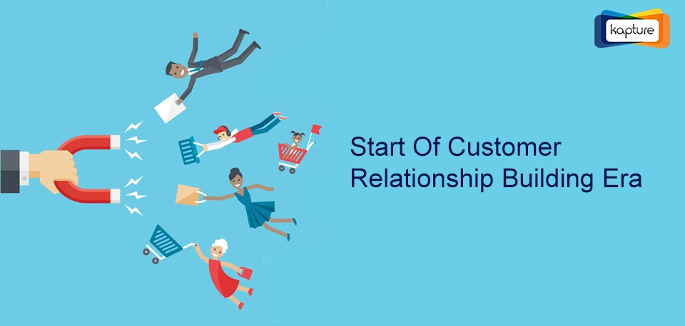 End of customer service, start of customer relationship