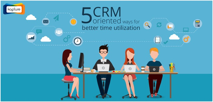 Time utilization with CRM