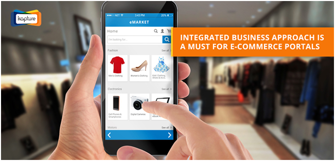 CRM for e-commerce portals – Need for an integrated business approach