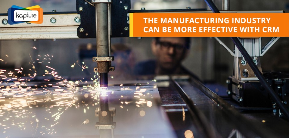 4 ways by which a manufacturing company can benefit from CRM-based operations