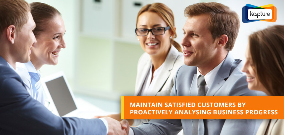 Completing Customer Feedback Loop: How CRM reports accelerate business progress?