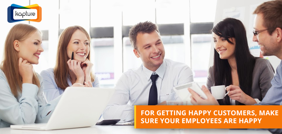 How to improve customer experience by maintaining good employee morale?