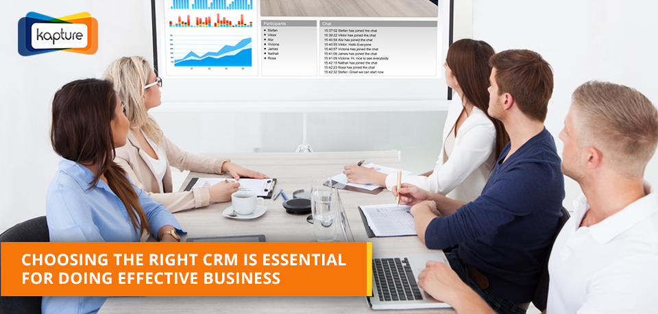 How to select the right CRM software for your business