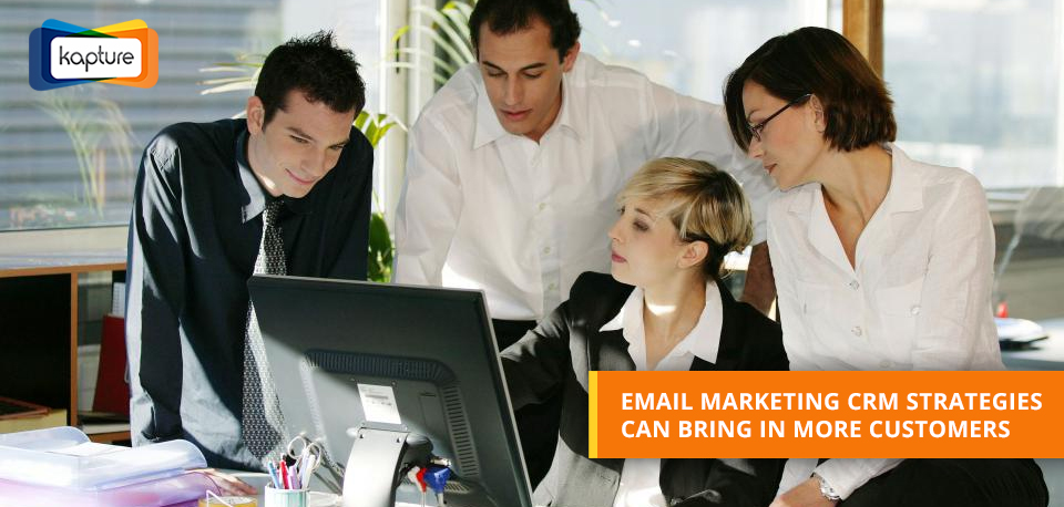 Seven CRM-based E-mail marketing Strategies to improve response