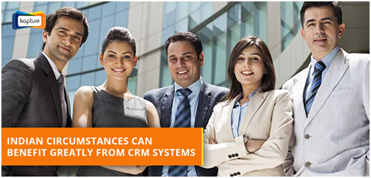 How can CRM be applied for Indian circumstances?