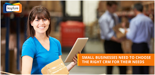 Right CRM Software For Small Business