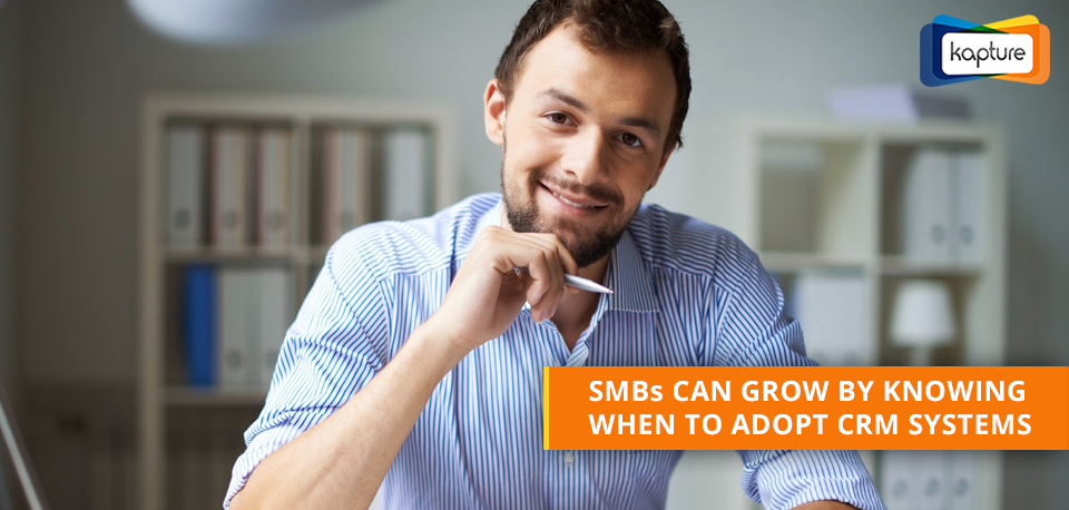 When should a small business invest in a CRM software?