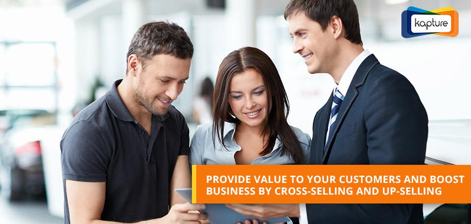 Traverser - vendre et Up - vendre l'aide d'un outil logiciel CRM