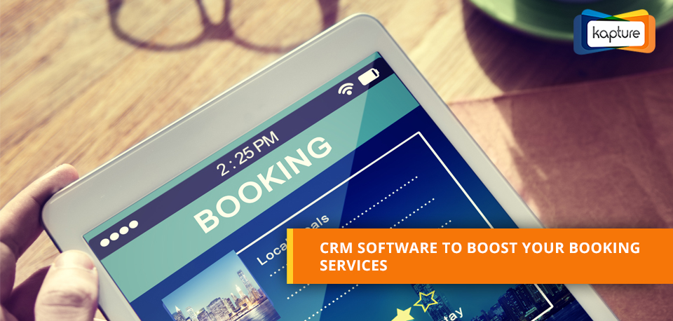 How to increase Booking Services through CRM software?