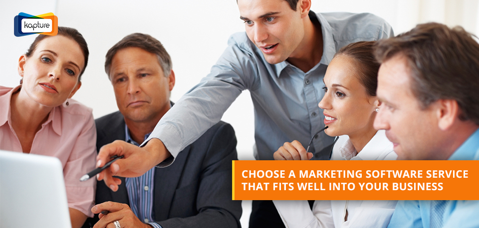 Tips for selecting the right marketing software for your business