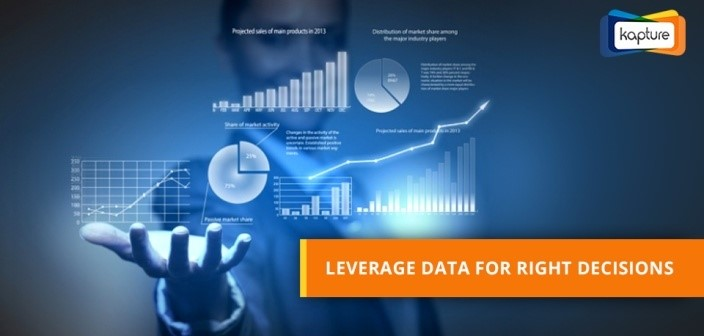 Power of data: How Capturing Data elevates your daily decision making process?