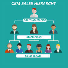 sales crm hierarchy