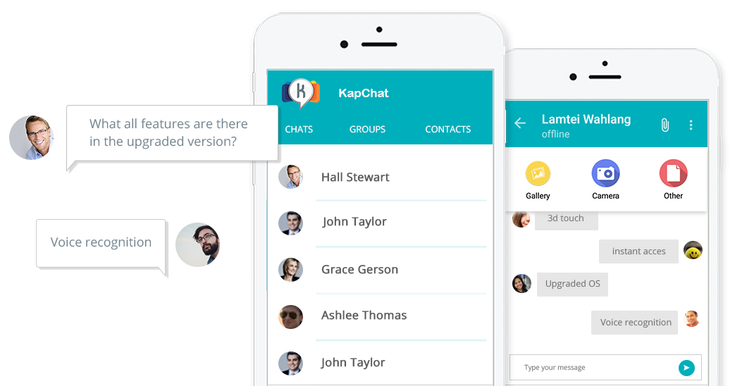 Application of Mobile CRM - Kapchat