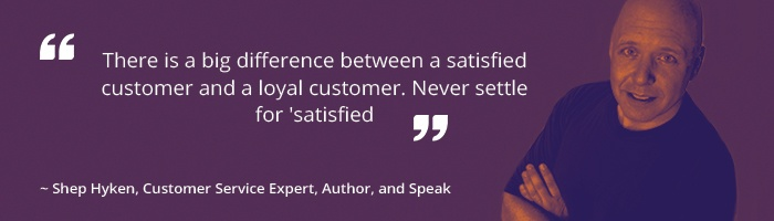 Shep Hyken, Customer Service Expert - Quote