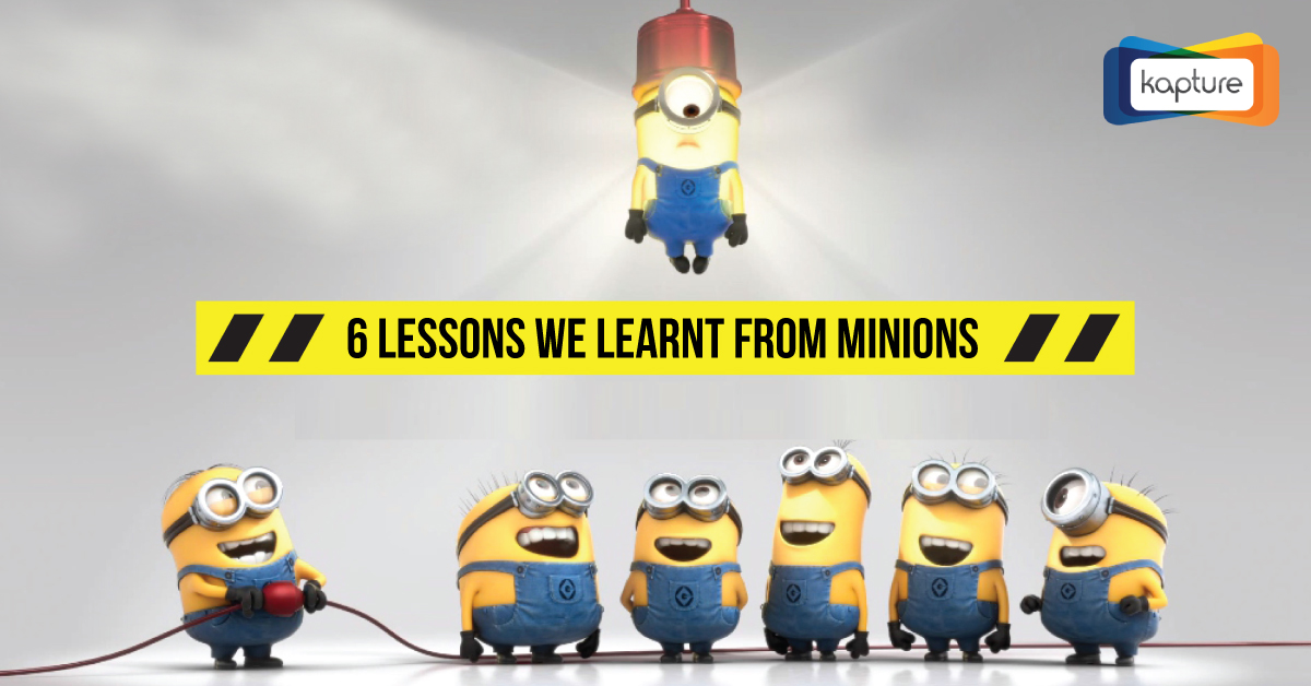 6 lessons we learnt from Minions