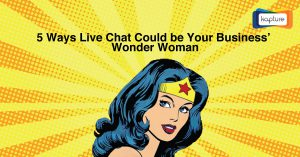 En Diamond in the Rough: 5 Sätt Live Chat kan vara din Business' Wonder Woman