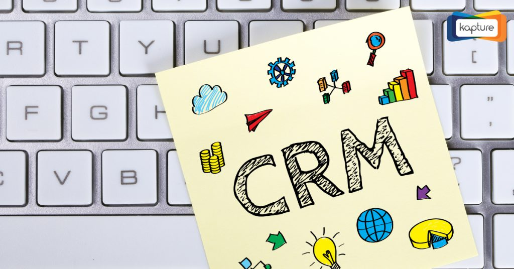 step ahead with Kapture CRM