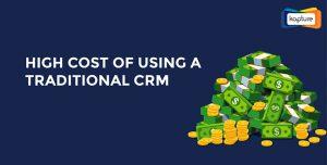 Höga kostnader för att använda en traditionell CRM [Infographic]
