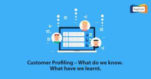 客戶分析 - 我們知道什麼. 我們學到了什麼.