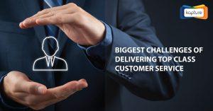 Größten Herausforderungen Delivering Top Class Kundenservice