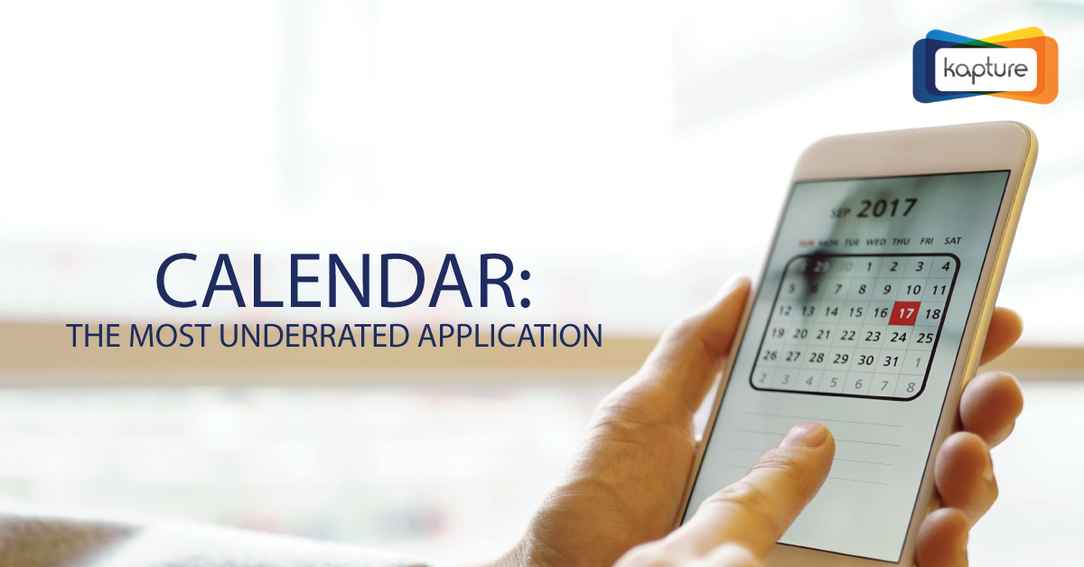 Calendar: The most underrated application