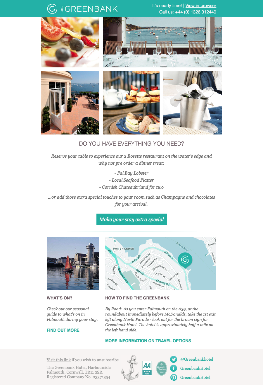 email marketing hotel industry