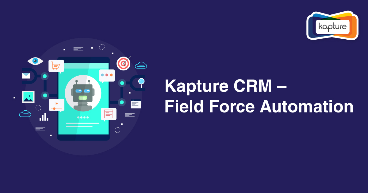 Kapture CRM – Автоматизация Field Force [инфографики]