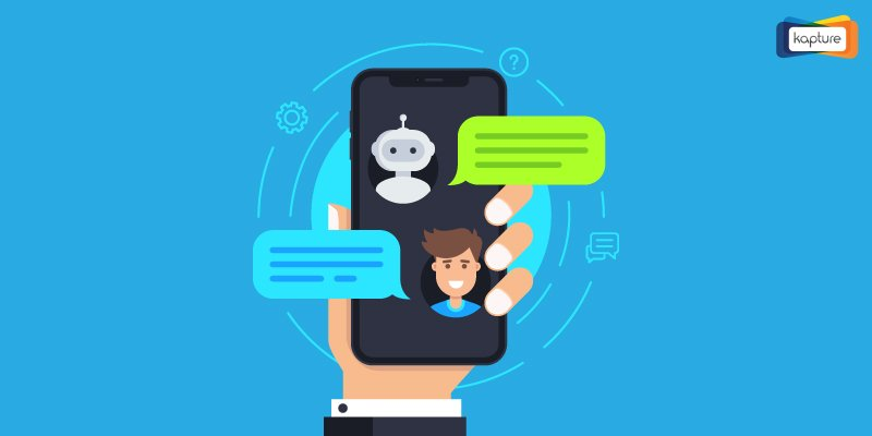 Chat bots on websites: Comparison with human enabled chat