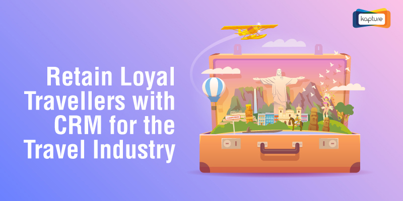 Travel Businesses absolutely need a CRM to work with since the Travel Industry is large and continuously flourishing. Discover Kapture Travel CRM's Powerfully Intelligent features that will help you steadily build up on Customer Loyalty and retain VIP Customers.