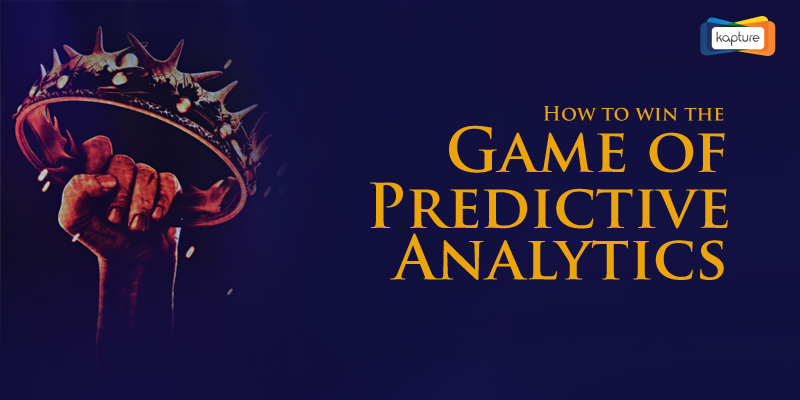 The Game of Predictive Analytics: Kapture CRM