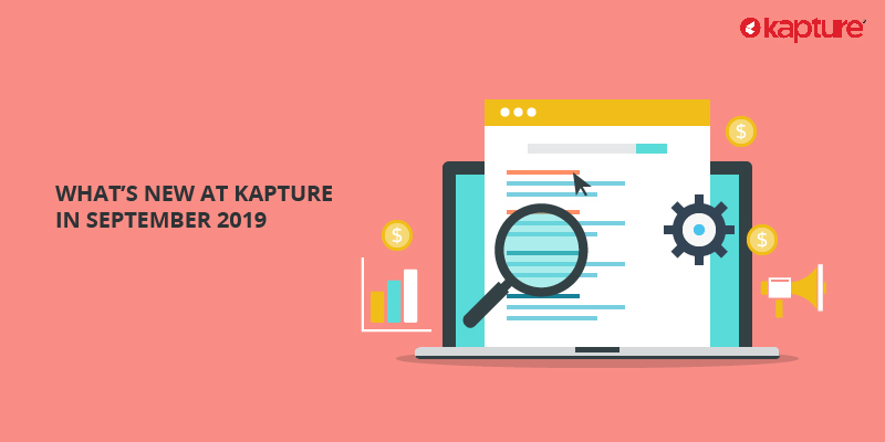 Whats new in Kapture CRM
