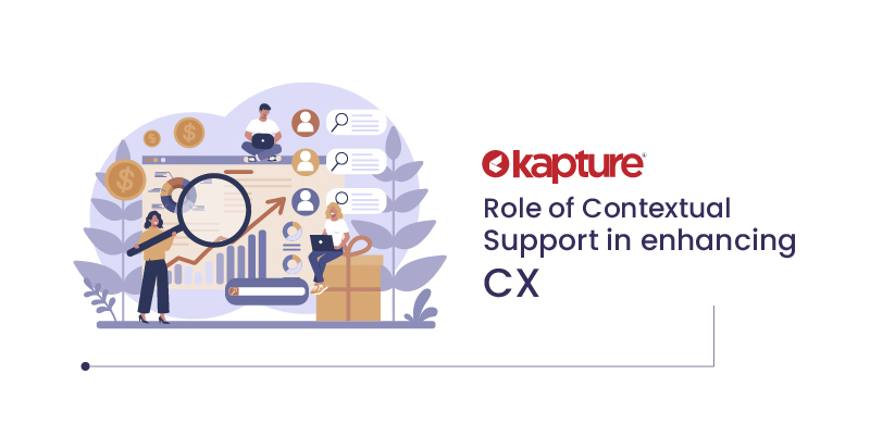 Role of contextual support in enhancing CX