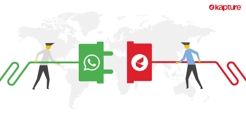 connect better with your customers through Kapture-WhatsApp integration
