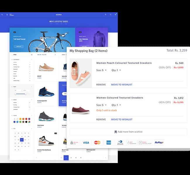 Existing e-Commerce Platform