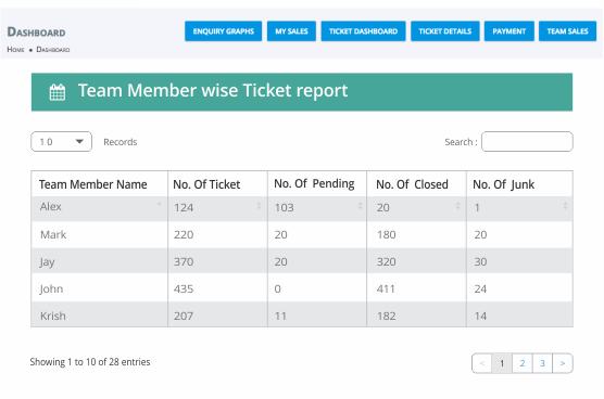 Ticket Report