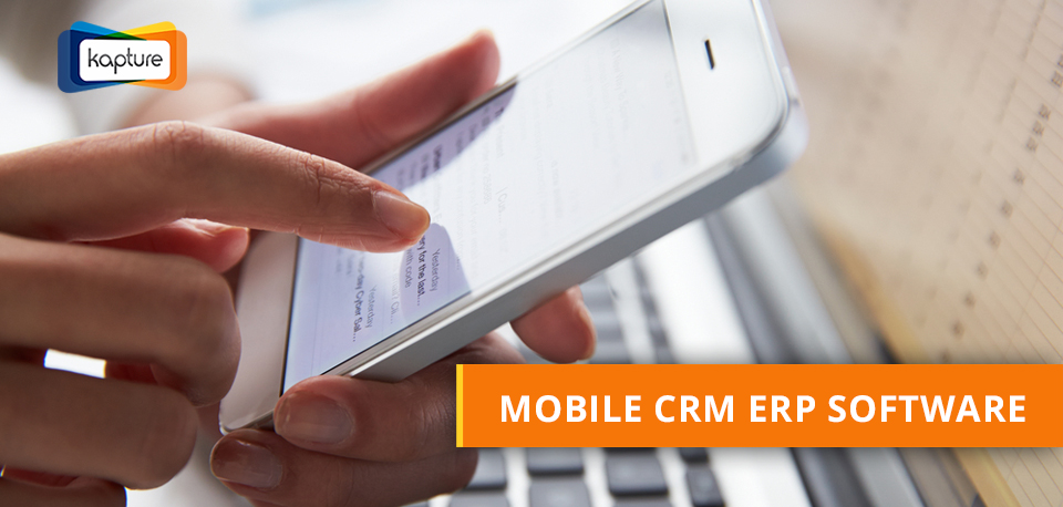 Mobile CRM software